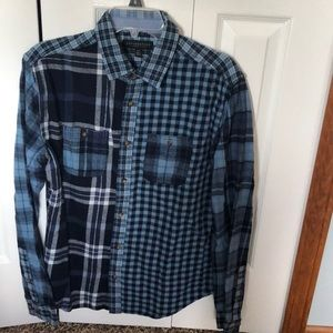 Aeropostale multi-plaid flannel.